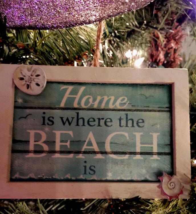 New Beach House Ornament