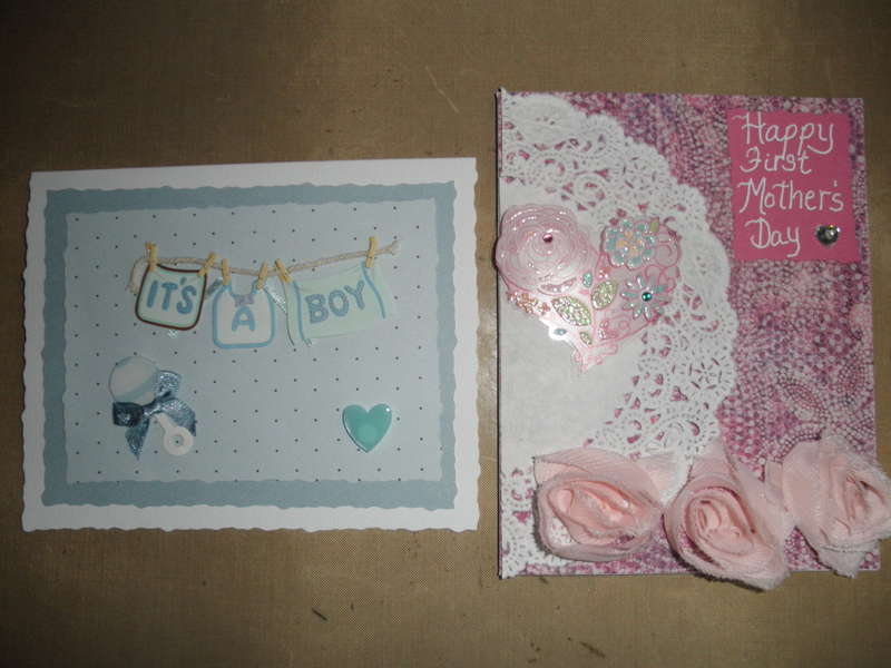 Baby & 1st Mother's Day Cards