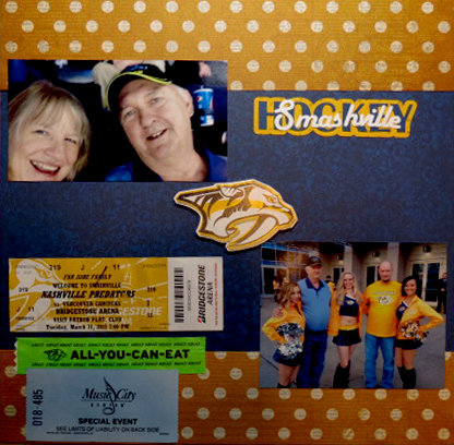 Predators Hockey Game Mar 31 2015
