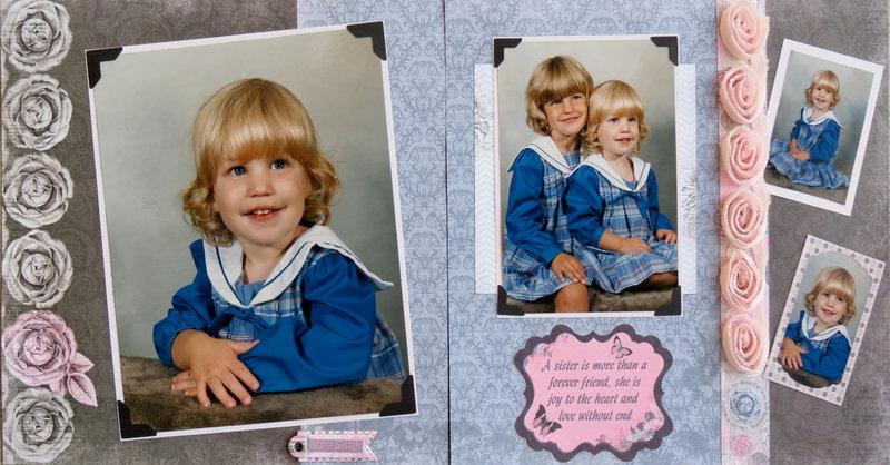 Tammy & Brooke in Blue Dresses