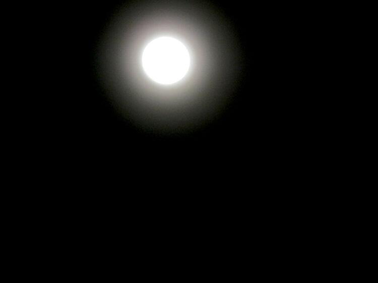 Bright Moon January 30, 2018