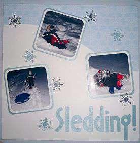 Sledding ...........