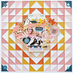 A Little Us Time at Home Layout by Paige Evans