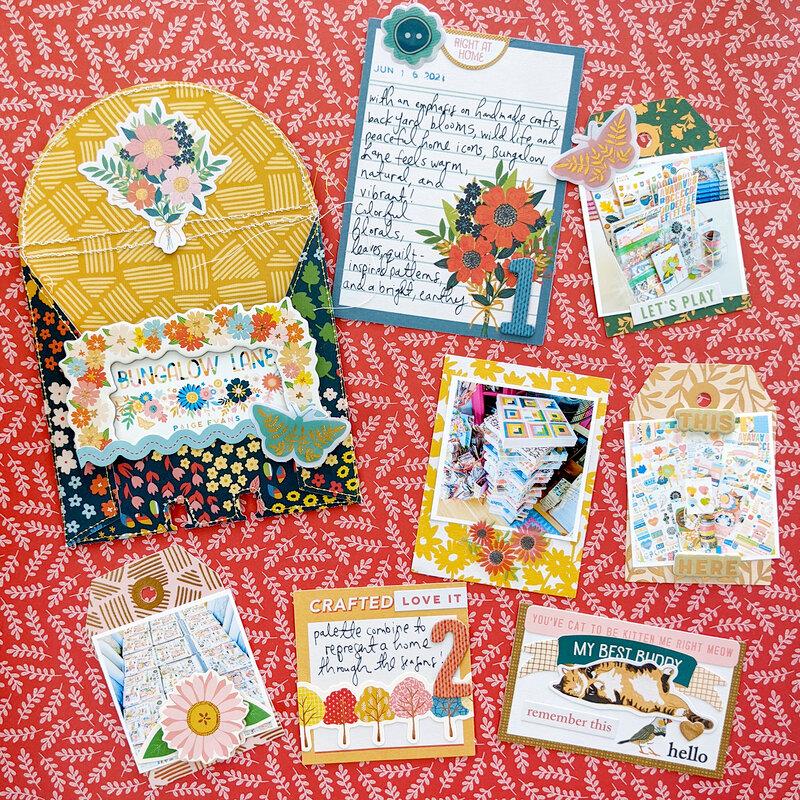Bungalow Lane MemoryDex Card