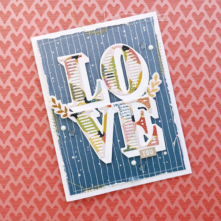 Love You Card by Paige Evans