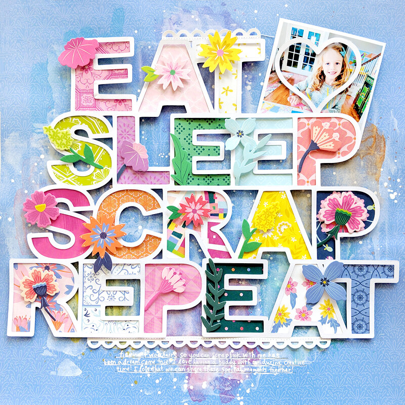 Eat Sleep Scrap Repeat