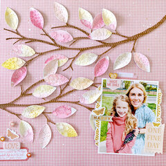 One Fine Day Layout by Paige Evans