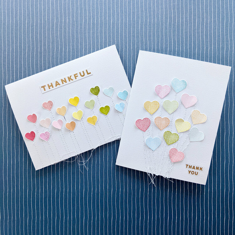 Thank You Cards by Paige Evans