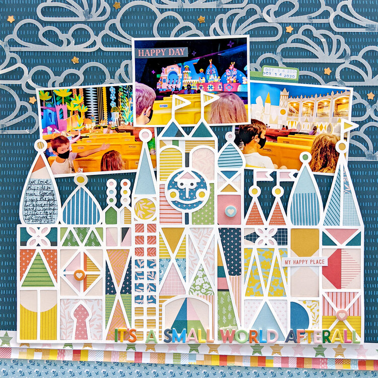 It's a Small World Afterall Layout by Paige Evans
