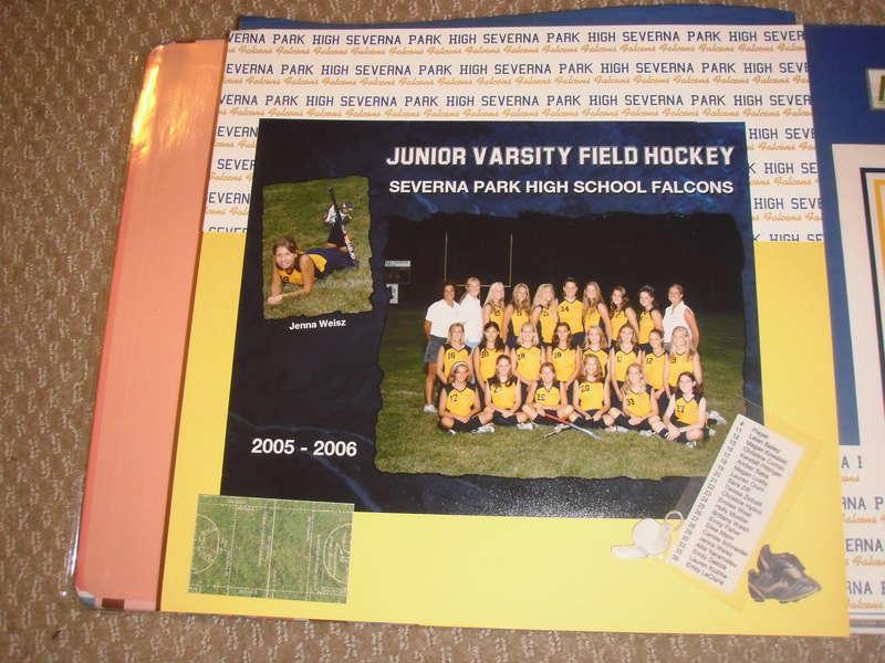 Severna Park Field Hockey fall 2005