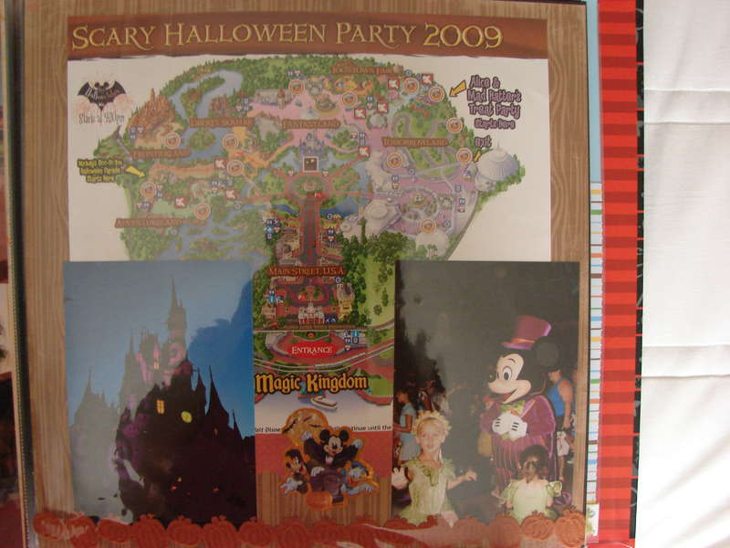 Mickeys not-so-scary Halloween Party facing page