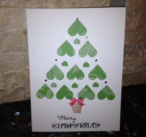 Heart-full Christmas Tree