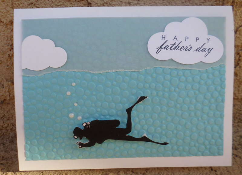 Father's Day card for a Diver