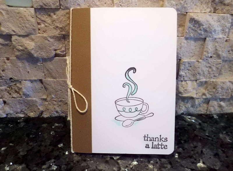 Thanks a Latte Gift Card Holder