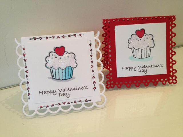Mini Valentine's Cards
