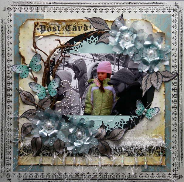 *** Swirlydoos*** Postcard from Winter