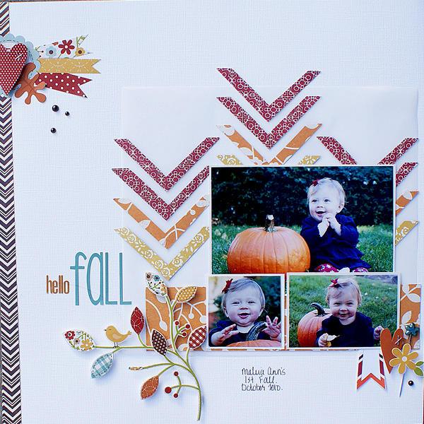 Hello Fall {Sketchabilities}