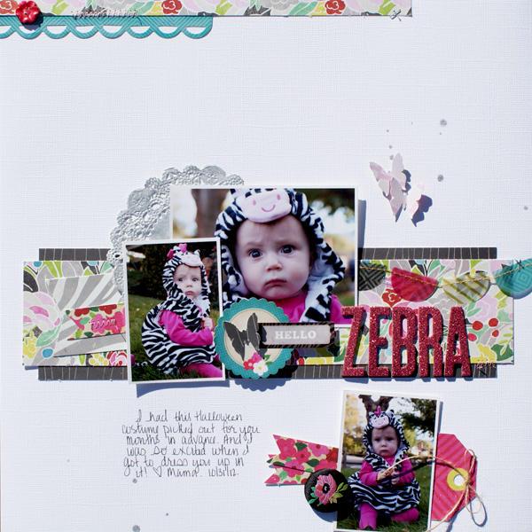 Hello Zebra {Sketchabilities}