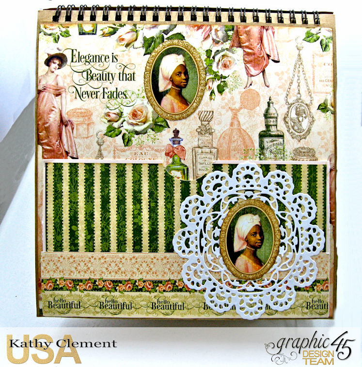 Graphic 45 Portrait of a Lady Easel Album