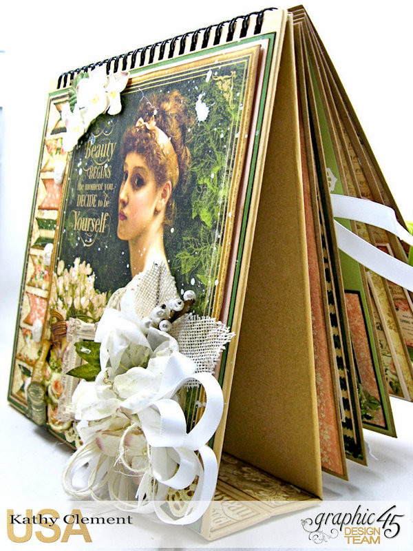 Graphic 45 Portrait of a Lady Easel Album
