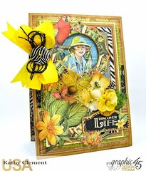 Discover Life Safari Adventure Card with Pockets