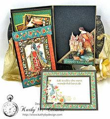 Graphic 45 Enchanted Forest Petite Mini Album