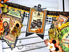 Graphic 45 Happy Hauntings Halloween Banner