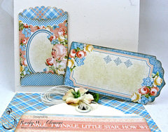 Precious Memories Baby Card with Pockets and Tags