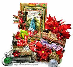 Graphic 45 St. Nicholas Sweet treats Gift Ensemble