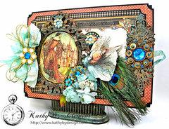 The Princess and the Peacock Box Card Folio Album