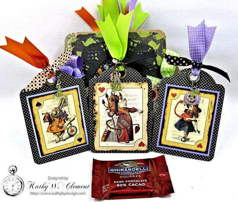Graphic 45 Halloween in Wonderland Tag Mini Album