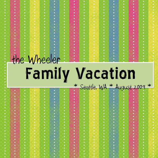 Vacation Album Cover 2009