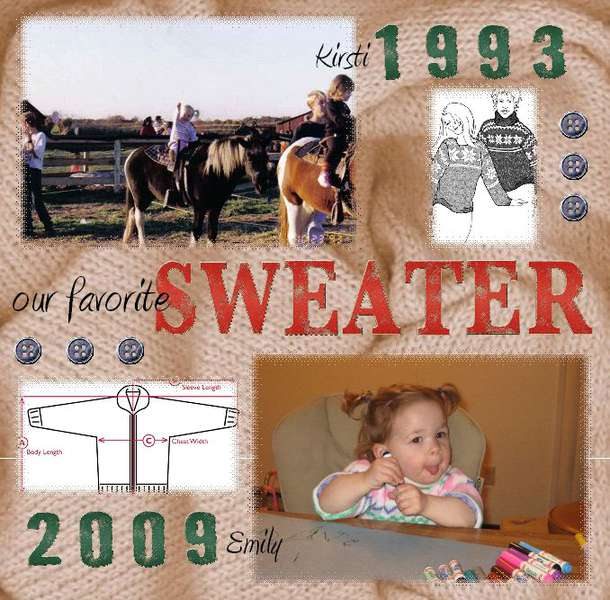 Our Favorite Sweater 2009