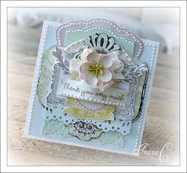~Thank You Very Much~ Webster's Pages January Challenge