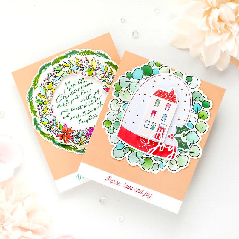 ~Holiday Cards~ Pinkfresh Studio