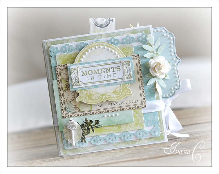~Moments in Time Mini Album~ Webster's Pages