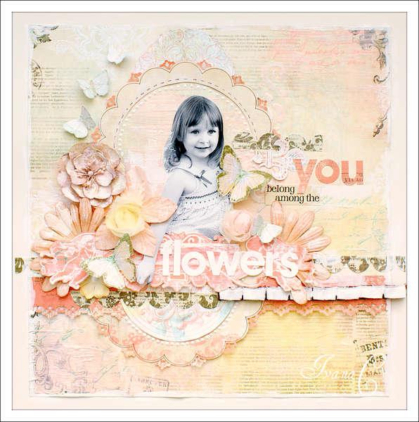 ~You Belong Among the Flowers~ April Scrap That! Kit