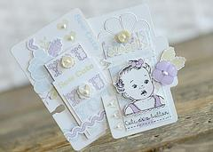 ~Sweet New Baby Wishes~ Papertrey Ink and Kaisercraft