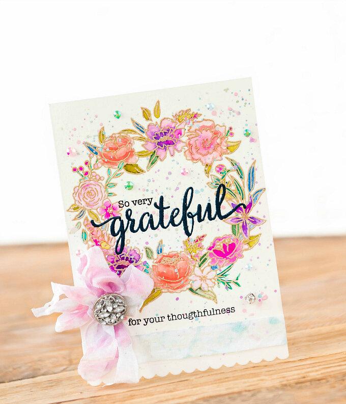 ~So Very Grateful~ Pinkfresh Studio