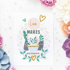 ~Love Makes Good Things Grow~ Pinkfresh Studio