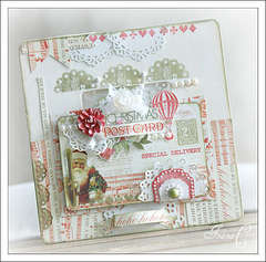 ~Christmas Frame~ Webster's Pages November Challenge