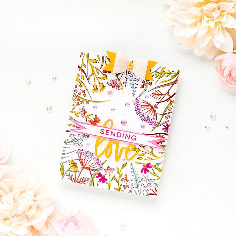 ~Sending Love~ Pinkfresh Studio + Hero Arts