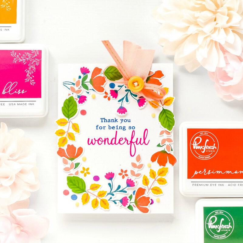 ~Thank You~ Pinkfresh Studio Premium Dye Ink