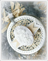 ~Tin Ornament~ Webster's Pages