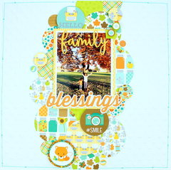 Family Blessings Layout