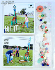 Inserts & Pocket Pages using the Posh Collection from Simple Stories