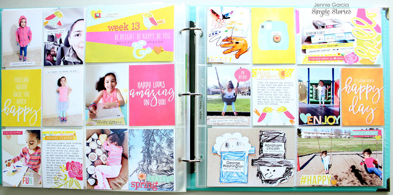 Sunshine and Happiness Pocket Pages