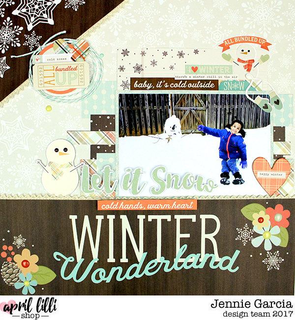 Winter Wonderland Layout