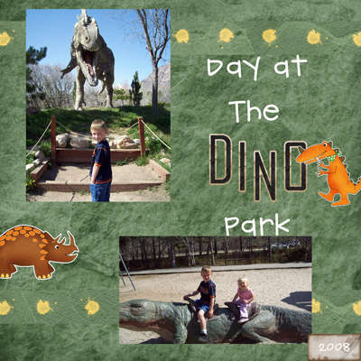 Day at the Dino Park