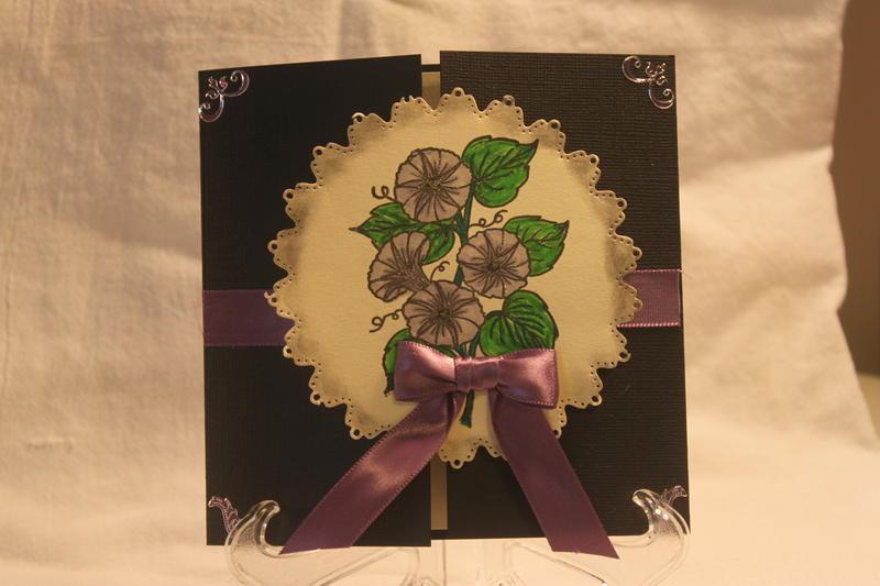 Flower Gate card